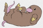 anus claws cute diglett feral long_penis male nintendo pencil_(artwork) penis pokémon python13rp simple_background solo tapering_penis traditional_media_(artwork) video_games white_background yaroul