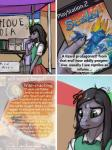 absurd_res aged_down anthro black_hair clothed clothing comic dialogue english_text female flower frown grey_eyes hair hi_res ldr lizard long_hair plant reptile scaler_(game) scalie solo text the_assistant  Rating: Safe Score: 3 User: Occam Date: April 19, 2016