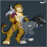 anal canine duo feline kael_tiger leorajh male male/male mammal saberon video_games warcraft were werewolf worgen world_of_warcraft  Rating: Explicit Score: 12 User: Vinea Date: July 16, 2015