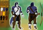 2015 abs anthro blue_fur bulge canine character_ref chest_tuft claws clothed clothing eye_patch eyewear fur half-dressed loincloth male mammal manly muscular nipples pecs shade_the_wolf tribal tuft white_fur wolf  Rating: Safe Score: 0 User: Bad_Shade Date: August 21, 2015