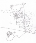 breasts dalthia death entangled female fey headphones help nipples nude open_mouth simple_background solo swirls tape tierafoxglove wolfsune  Rating: Questionable Score: 3 User: Dalthios Date: February 13, 2015