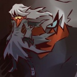 cosplay darkrai duo grey_hair hair hitec human legendary_pokémon long_hair male mammal nintendo pokémon video_games   Rating: Safe  Score: 3  User: msc  Date: May 01, 2008