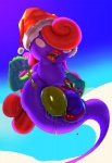 2015 belly breasts dickgirl easter erect_nipples forest hair holidays intersex lipstick long_hair mario_bros night nintendo nipples outside paint paper_mario penis rubber shadow_siren solo theboogie tree video_games vivian_(mario)  Rating: Explicit Score: 7 User: Robinebra Date: December 25, 2015