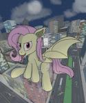 bat_pony bus car city destruction equine fangs feral flutterbat_(mlp) fluttershy_(mlp) friendship_is_magic giant horse hybrid looking_at_viewer macro mammal moon my_little_pony night open_mouth pony rapidstrike red_eyes sitting solo spread_wings tongue tongue_out truck vampire vehicle wings  Rating: Safe Score: 3 User: Burgerpants Date: November 05, 2015