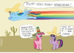 blue_eyes cactus cutie_mark desert dialogue english_text equine eyes_closed female feral friendship_is_magic fur group hair hat horn horse looney_tunes mammal mexican mexico multicolored_hair my_little_pony open_mouth pegasus pink_fur pink_hair pinkie_pie_(mlp) pony purple_eyes rainbow_dash_(mlp) rainbow_hair rainbow_tail sombrero spanish_text speedy_gonzales text twilight_sparkle_(mlp) two_tone_hair unicorn unknown_artist warner_brothers wings   Rating: Safe  Score: 2  User: RenaDyne  Date: May 04, 2011