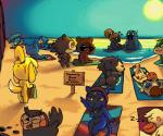<3 alpaca animal_crossing anthro avian beach beak bird black_fur blathers blush breast_squish breasts brewster_(animal_crossing) brown_feathers brown_fur butt camelid canine casual_nudity cat cyrus_(animal_crossing) day deep_navel disgusted dog eyes_closed eyewear feathers feline female fluffy fluffy_tail fur giraffe gracie_(animal_crossing) group hedgehog isabelle_(animal_crossing) kapp'n_(animal_crossing) kappa katrina_(animal_crossing) kicks_(animal_crossing) labelle_able lounging luna_(animal_crossing) lying mabel_able male male/female mammal navel nintendo nipples nude nude_beach nudist on_back on_front on_side on_towel one_eye_closed open_mouth outside owl panther pelican pelly_(animal_crossing) penis pigeon pink_nipples pointing public_nudity pussy reese_(animal_crossing) rover_(animal_crossing) sable_able sand seaside sex sex_on_the_beach shih_tzu sign signature sitting skinny_dipping skunk sky sleeping slightly_chubby stage_fright standing sun sunglasses sweat tan_fur tanuki tapir tom_nook_(animal_crossing) tongue tongue_out towel trunk umbrella video_games voluptuous voyeur water wiess wink yellow_furRating: ExplicitScore: 20User: immacactusDate: August 25, 2016