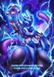 amazing ambiguous_gender anthro armor blue_eyes chobi-pho hi_res legendary_pokémon looking_at_viewer machine mewtwo nintendo pokémon robot solo video_games  Rating: Safe Score: 11 User: N7 Date: December 01, 2015
