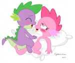 ambiguous_gender dragon duo eyes_closed female friendship_is_magic male male/female my_little_pony mysterious_mew open_mouth pillow purple_body scalie sex spike_(mlp)  Rating: Explicit Score: 2 User: MysteriousMew Date: May 12, 2013