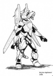1998 ambiguous_gender armor battlesuit black_and_white cyborg draconid dragon kaijima machine mecha mechanical monochrome power_armor robot scalie science_fiction solo   Rating: Safe  Score: 1  User: Chrontius  Date: February 17, 2010
