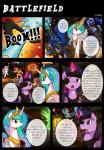 2014 apple_bloom_(mlp) battle dialogue earth_pony english_text equine female feral fight friendship_is_magic group horn horse mammal my_little_pony nightmare_moon_(mlp) pegasus pony princess_celestia_(mlp) princess_luna_(mlp) rainbow_dash_(mlp) scootaloo_(mlp) sweetie_belle_(mlp) text unicorn vavacung winged_unicorn wings   Rating: Safe  Score: 6  User: Robinebra  Date: September 21, 2014