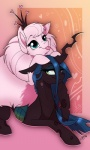 2014 <3 blue_eyes changeling crown cute duo equine eyes_closed famosity fan_character female feral fluffle_puff friendship_is_magic fur green_eyes green_hair hair holes horn horse mammal my_little_pony on_top pink_fur pony queen_chrysalis_(mlp) slit_pupils tongue tongue_out   Rating: Safe  Score: 26  User: Robinebra  Date: July 27, 2014