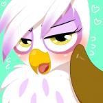 <3 avian beak blush brown_fur eyelashes feathers female friendship_is_magic fur gilda_(mlp) gryphon kiriya looking_at_viewer my_little_pony open_mouth seductive solo tongue white_feathers yellow_eyes  Rating: Safe Score: 13 User: DeltaFlame Date: September 25, 2015