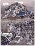2014 brown_eyes clothing comic digitigrade feline feral leopard mammal sabretoothed_ermine snow_leopard torn_clothing transformation   Rating: Safe  Score: 3  User: Arkham_Horror  Date: May 25, 2015