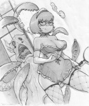 big_breasts breasts costume eyewear female fluffy glasses hair hanna-barbera magnifying_glass maid_uniform monster scooby-doo_(series) short_hair tentacles uniform velma_dinkley zipper  Rating: Questionable Score: 7 User: Ratty Date: July 12, 2011