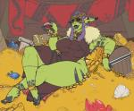 alcohol beverage big_breasts breasts clothed clothing dannyg female humanoid jewelry money orc slightly_chubby smile solo thick_thighs wineRating: SafeScore: 0User: Cat-in-FlightDate: May 23, 2017