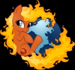 alpha_channel browser cute cutie_mark earth earth_pony equine fan_character female firefox hi_res horse looking_at_viewer mammal mozilla my_little_pony noreasontohope pony simple_background solo transparent_background