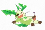 blush eeveelution flower kyounoikenie leaf_tail leafeon male masturbation nintendo penis plain_background pokémon solo video_games white_background   Rating: Explicit  Score: 1  User: slyroon  Date: March 23, 2011