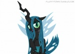 animated changeling fangs female feral fluffytown friendship_is_magic green_eyes green_hair hair horn mixermike622 my_little_pony queen_chrysalis_(mlp) royalty solo suggestive wings  Rating: Questionable Score: 20 User: masterwave Date: January 24, 2013