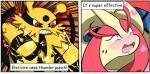 2017 blush comic digital_media_(artwork) electivire english_text horn milotic nintendo open_mouth pokémon pokémon_(species) raveneevee simple_background smile text video_gamesRating: QuestionableScore: 9User: RavenEeveeDate: November 25, 2017
