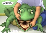 amphibian carnivore_cafe comic english_text female feral frog gaping_mouth group human male mammal nude open_mouth paws pd_(artist) pussy text vore what what_has_science_done   Rating: Explicit  Score: 4  User: msc  Date: May 26, 2007