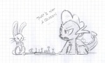 ambiguous_gender angel_(mlp) black_and_white chess dragon feral friendship_is_magic gaming lolover male monochrome my_little_pony scalie sketch spike_(mlp)   Rating: Safe  Score: 5  User: jojo400  Date: April 24, 2012