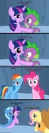 absurd_res applejack_(mlp) blue_feathers blue_fur cave comic dragon earth_pony equine feathers female feral fluttershy_(mlp) friendship_is_magic fur genie group hair hi_res horn horse hug mammal multicolored_hair my_little_pony navitaserussirus pegasus pinkie_pie_(mlp) pony purple_fur purple_hair rainbow_dash_(mlp) rainbow_fur rainbow_hair sad scalie spike_(mlp) tears trixie_(mlp) tumblr twilight_sparkle_(mlp) two_tone_hair unicorn wings  Rating: Safe Score: 0 User: darknessRising Date: June 28, 2013