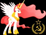 alpha_channel communism cutie_mark equine female feral friendship_is_magic hair hammer_and_sickle hi_res horn long_hair mammal my_little_pony politics princess princess_celestia_(mlp) red_eyes red_hair royalty russian solo soviet_union star tiara unknown_artist winged_unicorn wings  Rating: Safe Score: 8 User: Arky-Chan Date: June 12, 2011