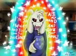 2015 anthro asriel_dreemurr boss_monster caprine e621 fur goat hair imminent_vore looking_at_viewer male mammal monster solo undertale video_games vore xyi  Rating: Questionable Score: 4 User: refe Date: December 27, 2015