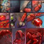 acid amphibian balls big_balls big_penis blister blood building castration death erection fangs fin fish genital_mutilation glass gore grotesque horror injection kaiju lenexwants macro male marine melting monster muscles nude pain penectomy penetration penis puss scalie solo urethra urethral urethral_penetration vein what_has_science_done  Rating: Explicit Score: -10 User: Peekaboo Date: September 12, 2014