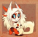 cat choker claws demon demon_shade fangs feline female hooves horn hybrid mammal piercing shade-shypervert sitting solo  Rating: Safe Score: 2 User: Adken Date: July 29, 2015