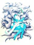 025aki 2017 2_tails 3_fingers anthro arm_markings biped blue_body blush breasts crest eyelashes featureless_breasts featureless_crotch female hair handpaw hi_res leg_markings legendary_pokémon legs_together long_tail looking_at_viewer lying markings messy_hair multi_tail nintendo nude on_side paws pinup pokémon pokémorph pose purple_hair red_eyes shaded shadow side_view simple_background skinny_tail slit_pupils small_breasts smile snout solo suicune thick_thighs video_games white_background white_belly white_body white_markings white_tailRating: QuestionableScore: 8User: Schroedinger's_HatDate: March 09, 2017