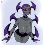 alien ben_10 ben_10:_omniverse breasts clothed clothing female half-dressed macro mutant_to'kustar nipples not_furry red_eyes skirt solo topless way_bad  Rating: Questionable Score: 2 User: SwiftNimblefoot Date: October 21, 2015