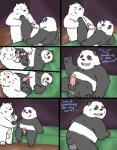 anal anal_penetration balls bear comic duo graft_(artist) ice_bear male male/male mammal panda panda_(character) penetration penis polar_bear we_bare_bears  Rating: Explicit Score: 12 User: Pokelova Date: November 04, 2015