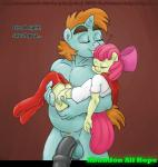 """69 absorption anthro apple_bloom_(mlp) balls blush bottomless cartoon chubby clothed clothing cosplay crossover digital_media_(artwork) duo equine female friendship_is_magic half-dressed horn kissing magic male male/female mammal musclegut my_little_pony nipples oral penis sex size_difference sleeping smudge_proof snips_(mlp) stockholm_syndrome supergirl superhero text unicorn vaginal  Rating: Explicit Score: 2 User: Smudge_Proof Date: February 18, 2015"""""""