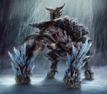 all_fours amazing ambiguous_gender blood bovine cattle cave detailed drooling glowing glowing_eyes horn ice light mammal minotaur monster natehallinanart open_mouth saliva sharp_teeth teeth   Rating: Safe  Score: 14  User: Robinebra  Date: October 21, 2012