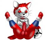 anus ball butt cat domestic_cat feline fifa_2018 fifa_russia_2018 football_(disambiguation) mammal mutee penis russia russian seductive soccer sport the_cat_(fifa_russia_2018_mascot) world_cupRating: ExplicitScore: 1User: SunnyStonesDate: October 21, 2016