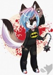 anthro beanie blood canine chibi clothed clothing female fur hair hat honesty_(artist) looking_at_viewer mammal smile solo standingRating: SafeScore: 0User: Cat-in-FlightDate: February 21, 2017