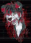 2015 animated anime blood broken bust_portrait canine creepy feral full fullart general glitch glowing gore hair halloween holidays horror kennywolfeh male mammal markings night open_mouth pixel psychopath scary solo style teeth tongue unknown_species  Rating: Questionable Score: 2 User: cutthroat Date: November 04, 2015