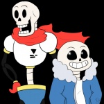 alpha_channel alwayswildcat animated_skeleton bone clothed clothing duo humanoid not_furry papyrus_(undertale) sans_(undertale) simple_background skeleton smile transparent_background undead undertale video_games  Rating: Safe Score: 3 User: JSimesenMac Date: January 27, 2016