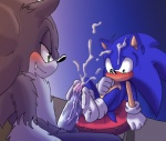 2015 angelofhapiness blush cum cumshot duo erection foot_fetish footjob hedgehog male male/male mammal nude orgasm penis selfcest sonic_(series) sonic_the_hedgehog sonic_the_werehog square_crossover video_games werehog  Rating: Explicit Score: 2 User: RioluKid Date: August 21, 2015
