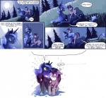 2014 blue_fur blue_hair comic cutie_mark dialogue duo english_text equine eye_contact eyes_closed female feral fetlocks friendship_is_magic fur hair horn kolshica long_hair mammal moon my_little_pony nervous night on_top open_mouth outside parody princess_luna_(mlp) purple_eyes purple_fur purple_hair riding smile sweat text twilight_sparkle_(mlp) unicorn winged_unicorn wings   Rating: Safe  Score: 10  User: Somepony  Date: May 20, 2014