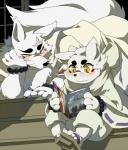 anthro canine clothing couple duo female fox gintaro haru_(gingitsune) human japanese_clothing male mammal nintendo pikachu pokémon video_games  Rating: Safe Score: 5 User: NSFW Date: November 03, 2015