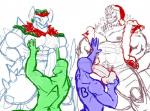 2016 5:4 abs anthro anthrofied armpits balls barazoku biceps big_penis blush christmas clothed clothing danandnite digital_drawing_(artwork) digital_media_(artwork) dinosaur dragon english_text erection fellatio fireplace foursome fur garchomp group group_sex hat headgear holding_balls holidays horn humanoid_penis licking male male/male manly mostly_nude muscular navel nintendo nipples nude open_mouth oral orgasm parallel_sex pecs penis penis_lick pokémon pubes saliva santa_hat sex sharp_teeth size_difference sketch smile spikes standing sucking teeth text thick_penis tongue tongue_out tyrantrum unknown_species vest video_games ychRating: ExplicitScore: 2User: ScarefishDate: January 06, 2017