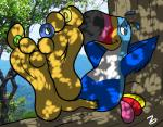 3_toes avian beak bird cereal feet food foot_fetish foot_focus forest humanoid_feet looking_at_viewer male soles solo teasing toes toucan toucan_sam tree zp92Rating: SafeScore: 3User: throwaway6666Date: March 29, 2017