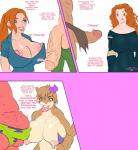 5ifty anthro areola balls ben_10 ben_10_alien_force ben_tennyson big_breasts bikini brave breasts cleavage clothed clothing crossover dialogue english_text erect_nipples erection female flaccid gwen_tennyson huge_breasts human jay-marvel male mammal marine nipples patrick_star penis princess_merida rodent sandy_cheeks spongebob_squarepants spongebob_squarepants_(series) squirrel starfish swimsuit text  Rating: Explicit Score: 10 User: Robinebra Date: June 10, 2015""