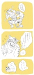 affection biceps blush clothed clothing couple eyes_closed feline gay hiroyuki human japanese_text laugh male morenatsu muscles text tickling tiger torahiko_ooshima   Rating: Safe  Score: 1  User: Technodelic  Date: July 15, 2013