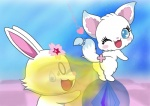 blush duo fart fart_fetish feline japanese_text jewelpet kon_gitsune_(artist) larima mammal text translation_request  Rating: Explicit Score: -5 User: my_bad_english Date: December 11, 2015