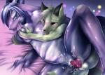 blue_hair breasts canine censored dragon duo female fur green_fur hair kemono mammal penis pussy sex tongue wolf 玉竜   Rating: Explicit  Score: 12  User: KemonoLover96  Date: May 17, 2015