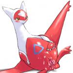 after_sex blush clitoris cum cum_in_pussy cum_inside cum_on_stomach dragon female feral gaping gaping_pussy latias legendary_pokémon messy nintendo pokémon pussy scalie simple_background solo video_games white_background wkar  Rating: Explicit Score: 16 User: Genjar Date: January 12, 2015