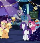 2016 applejack_(mlp) boulder_(mlp) clothing crowd equine eyes_closed female feral fluttershy_(mlp) friendship_is_magic frock group horn horse mammal maud_pie_(mlp) microphone ms_harshwhinny_(mlp) my_little_pony pegasus pinkie_pie_(mlp) pixelkitties pony rainbow_dash_(mlp) rarity_(mlp) sleeping twilight_sparkle_(mlp) unicorn wings  Rating: Safe Score: 4 User: 2DUK Date: March 26, 2016